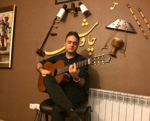بابک واثقی استاد گیتار پاپ
