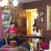 سنتورنوازان آموزشگاه موسیقی چاووش شیراز