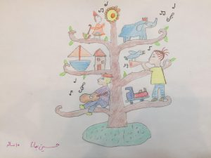 مسابقه نقاشی - حسین بمانا