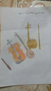 مسابقه نقاشی - محمد امین معصومی