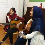 گیتار نوازان آموزشگاه موسیقی چاووش شیراز