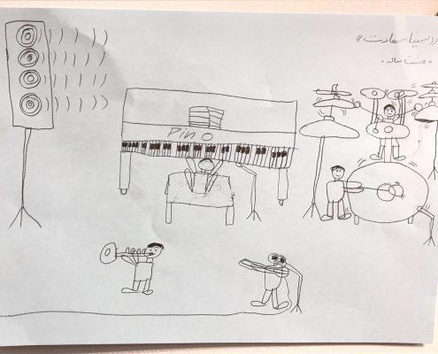 مسابقه نقاشی - سینا سعادت