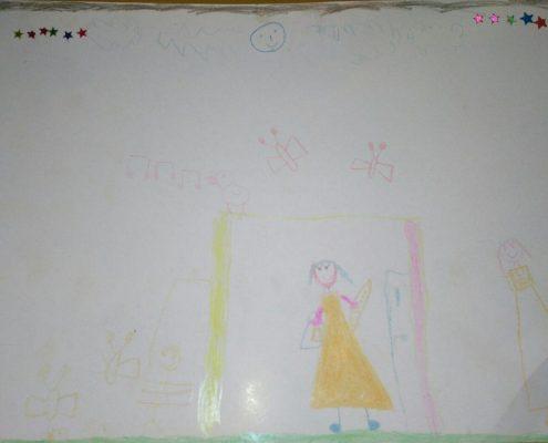 مسابقه نقاشی - یلدا سعادت