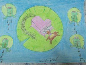 مسابقه نقاشی - یکتا فاطمی