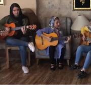 اجرای گروه گیتار نوازان چاووش