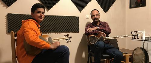 تارنوازان آموزشگاه موسیقی چاووش شیراز
