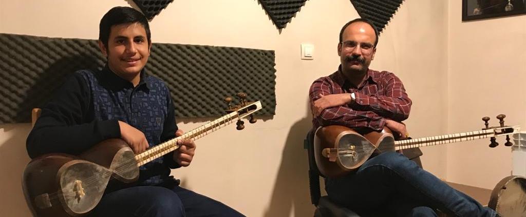 تارنوازان موسیقی چاووش شیراز دانیال آبیاری