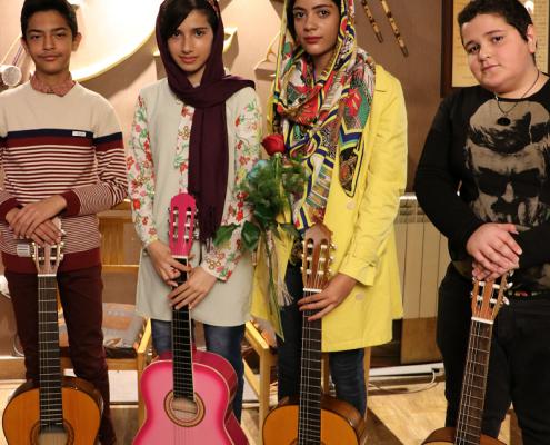 گروه گیتار نوزان چاووش